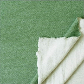 Lammfleece - grün -