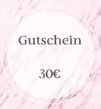 Gutschein - 30€ -