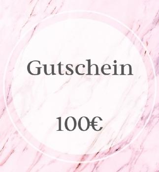 Gutschein - 100€ -