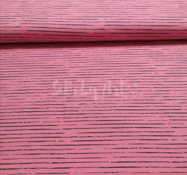 Stripes - pink / dunkelblau -